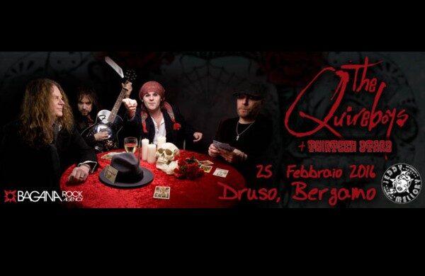 THE QUIREBOYS dal vivo al Druso Circus